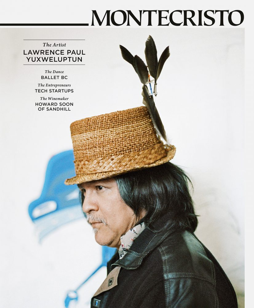 MONTECRISTO Magazine Summer 2012 Cover - Lawrence Paul Yuxweluptun