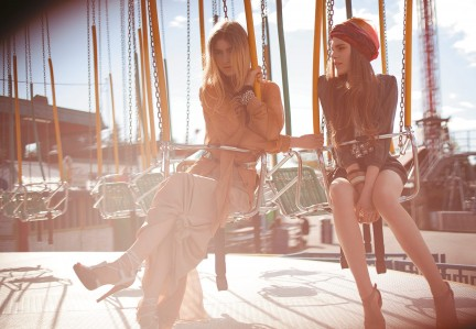 MONTECRISTO: Midway Girls Fashion Editorial at the PNE