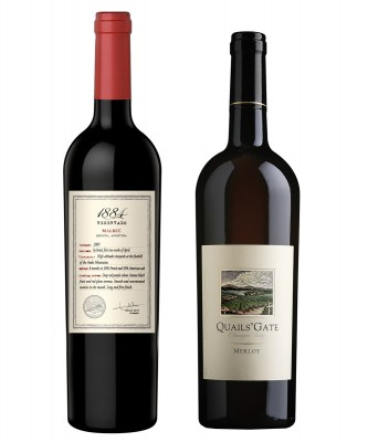 MONTECRISTO Blog: 1884 Reservado Malbec and Quails' Gate Merlot