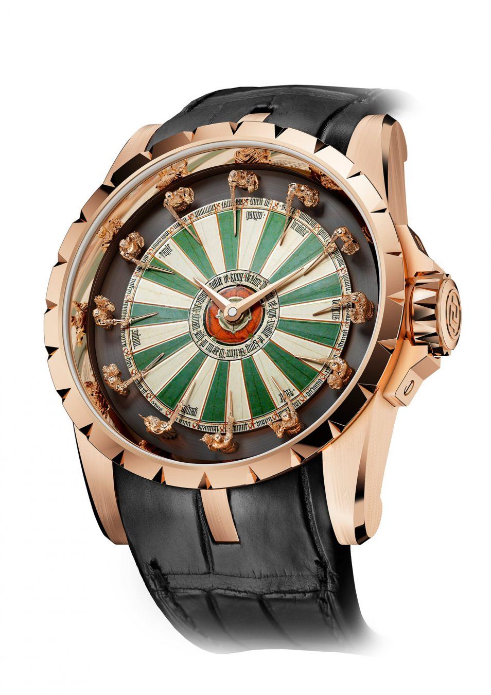12 Knights Of The Round Table.Roger Dubuis Excalibur Round Table Watch Montecristo
