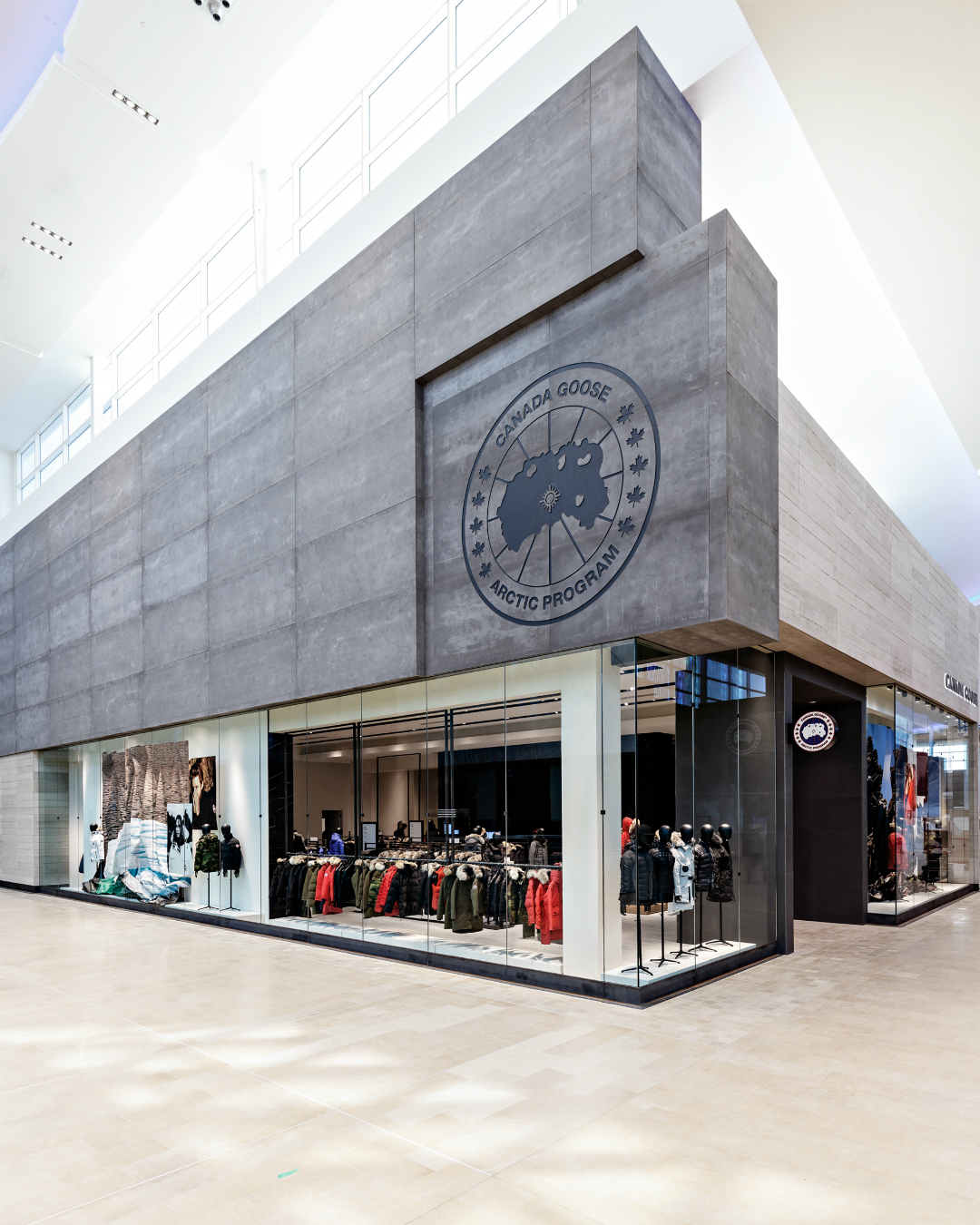 canada goose store in square one