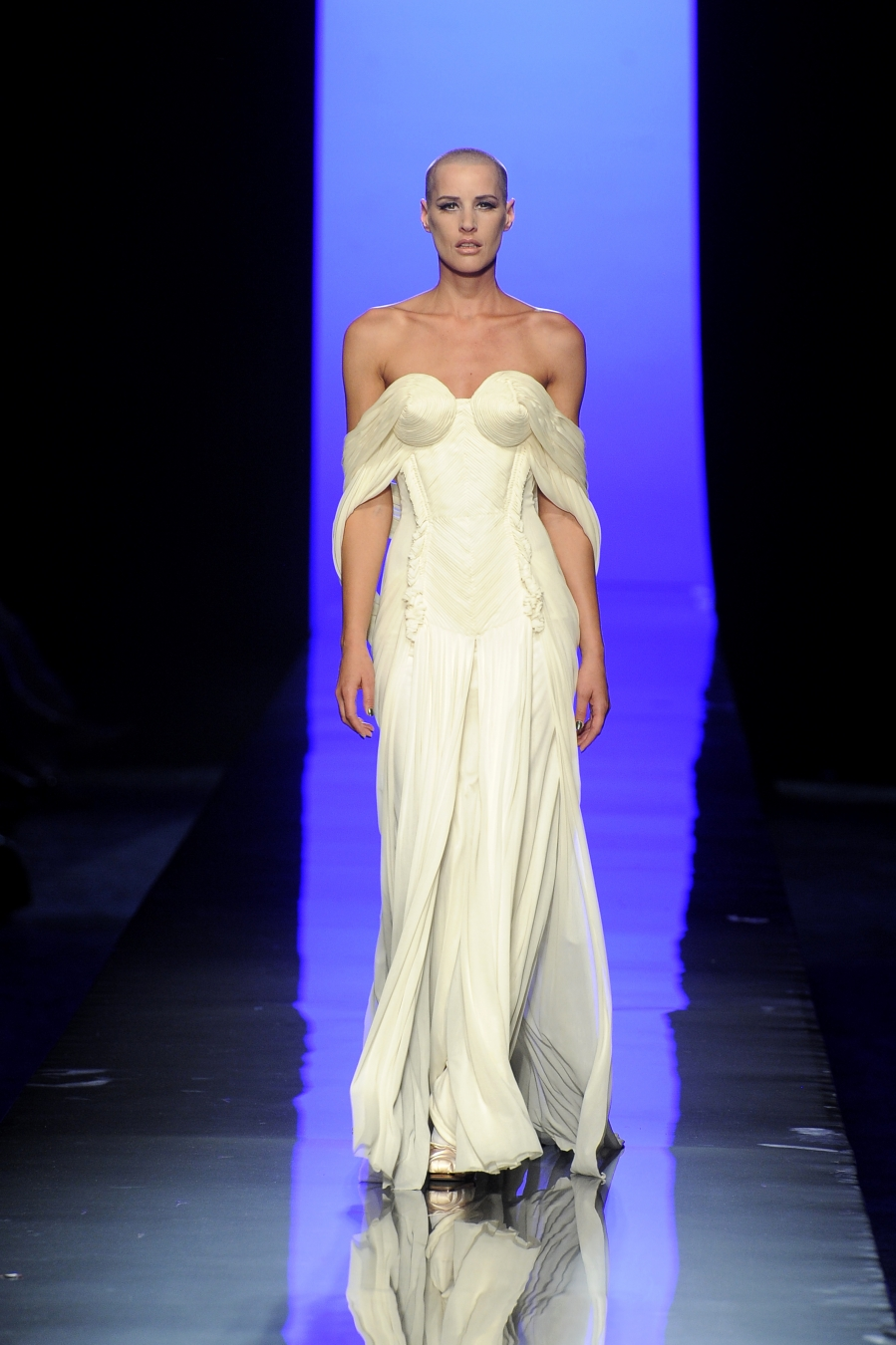 """379663bea08 Jean Paul Gaultier (born in 1952), Ashes to Ashes collection, '""""La Mariée""""  gown, haute couture fall/winter 2013-2014. Photo © Patrice Stable/Jean Paul  ..."""
