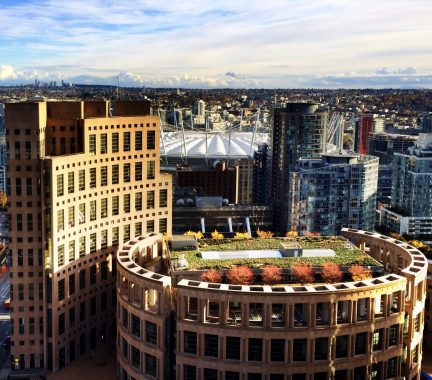 Vancouver Public Library's Redesigned Rooftop Garden