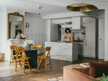 Inside Jackie Kai Ellis's Paris Apartment