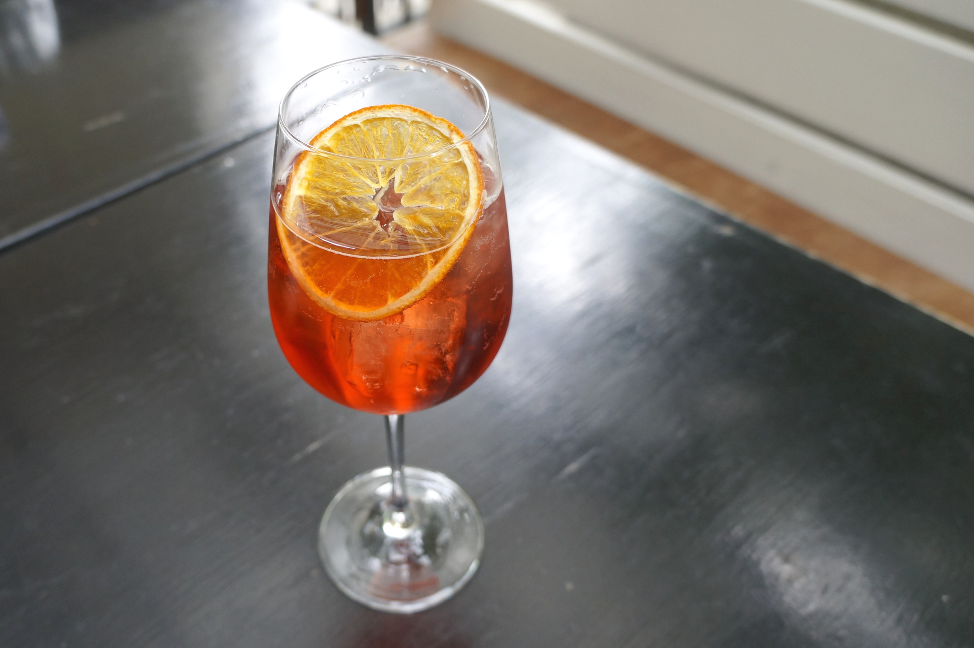 Homer St. Cafe and Bar Negronito Spritz