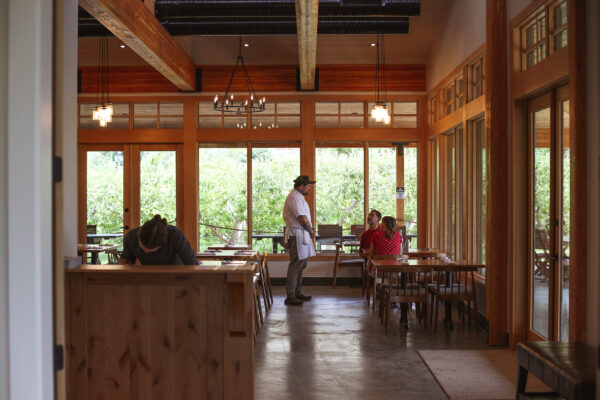 At Row Fourteen, Farm to Table Takes Just a Few Steps