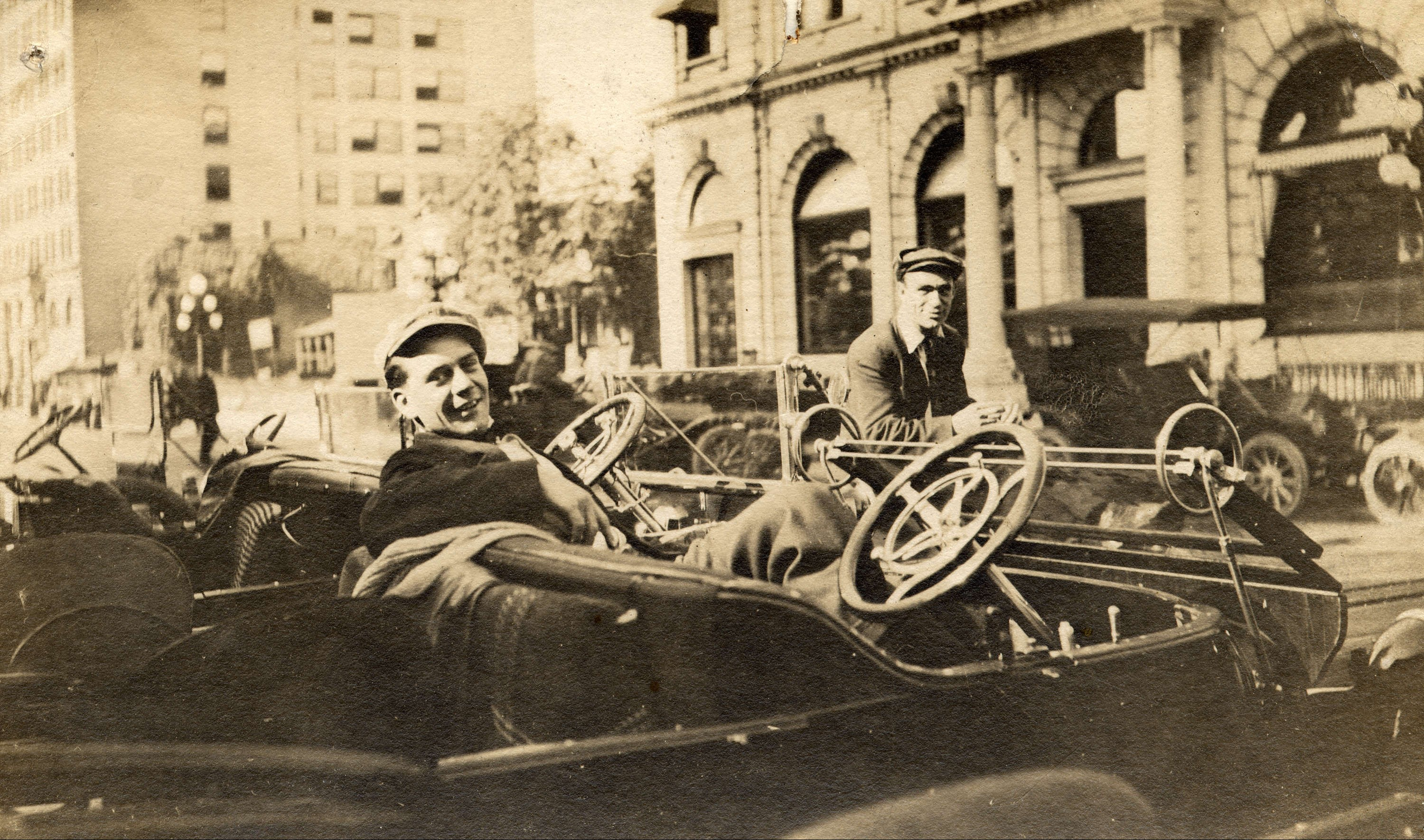 vancouver's first taxi driver