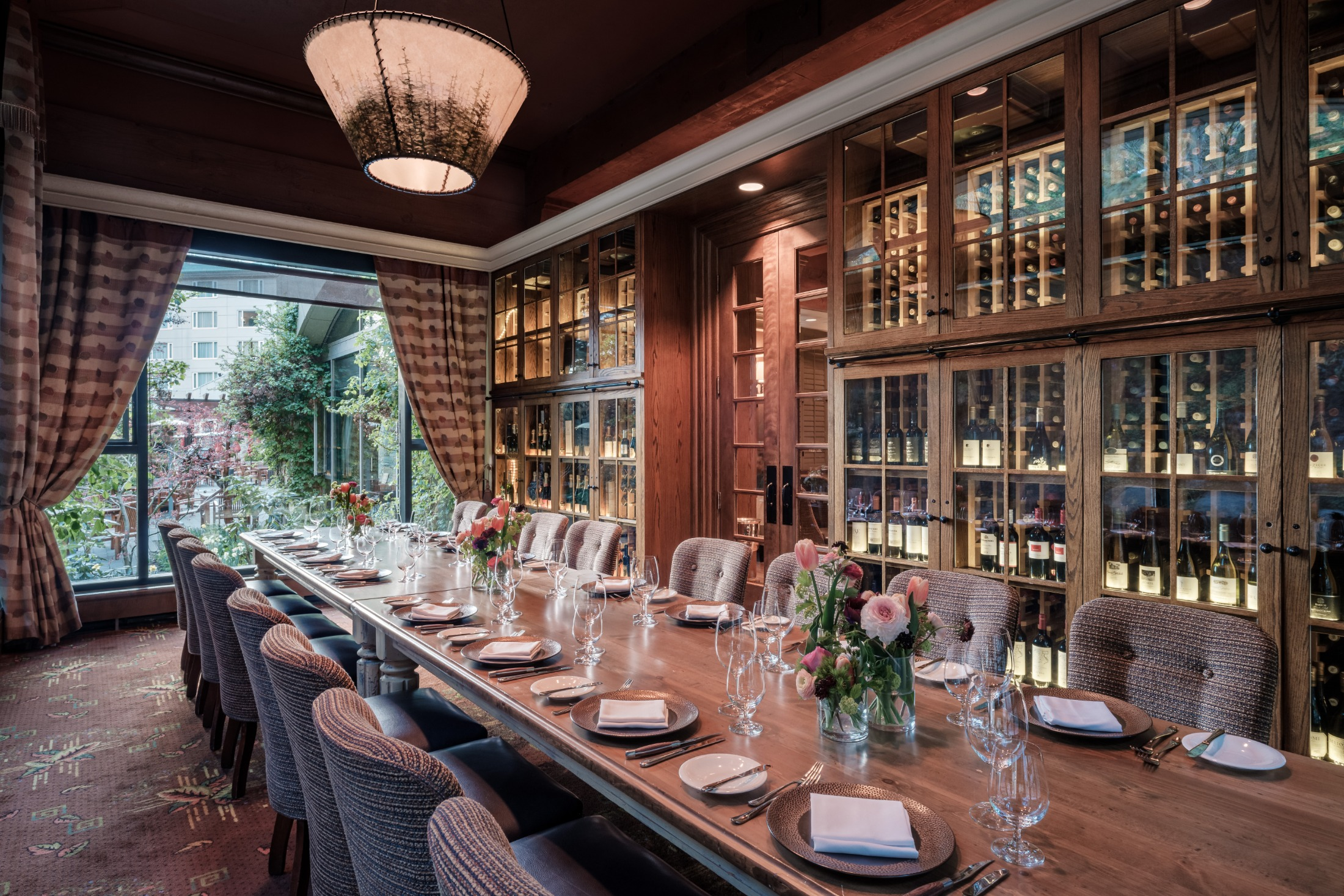 Fairmont Cheateau Whistler Private Dining Room