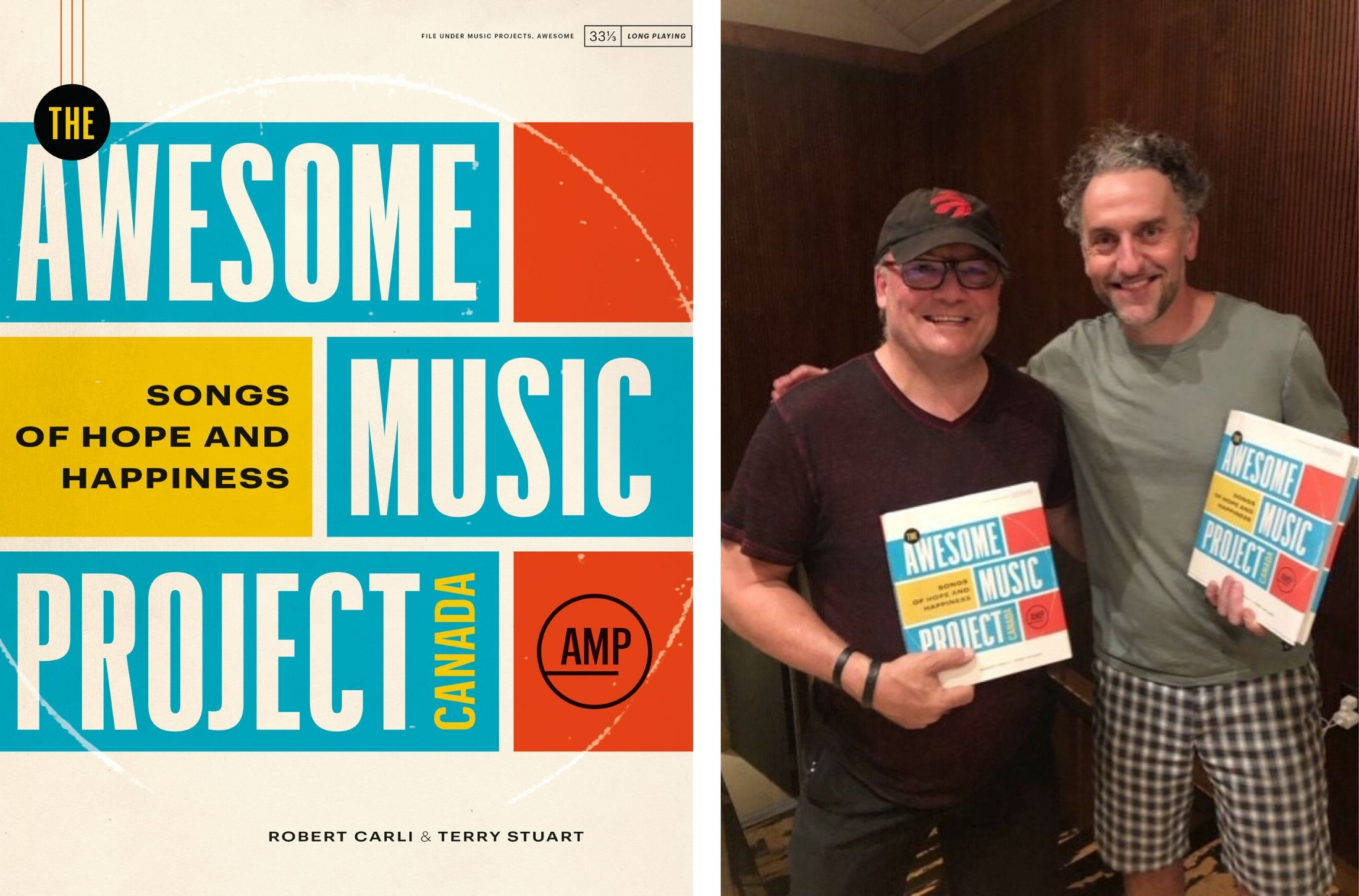 Co-authors Terry Stuart and Robert Carli. Courtesy of The Awesome Music Project.